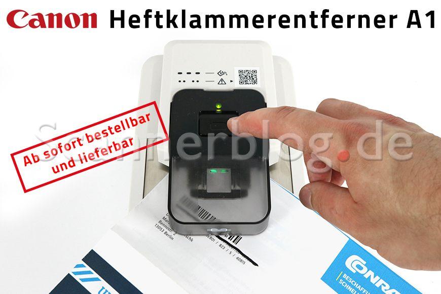 Canon Heftklammerentferner A1 lieferbar