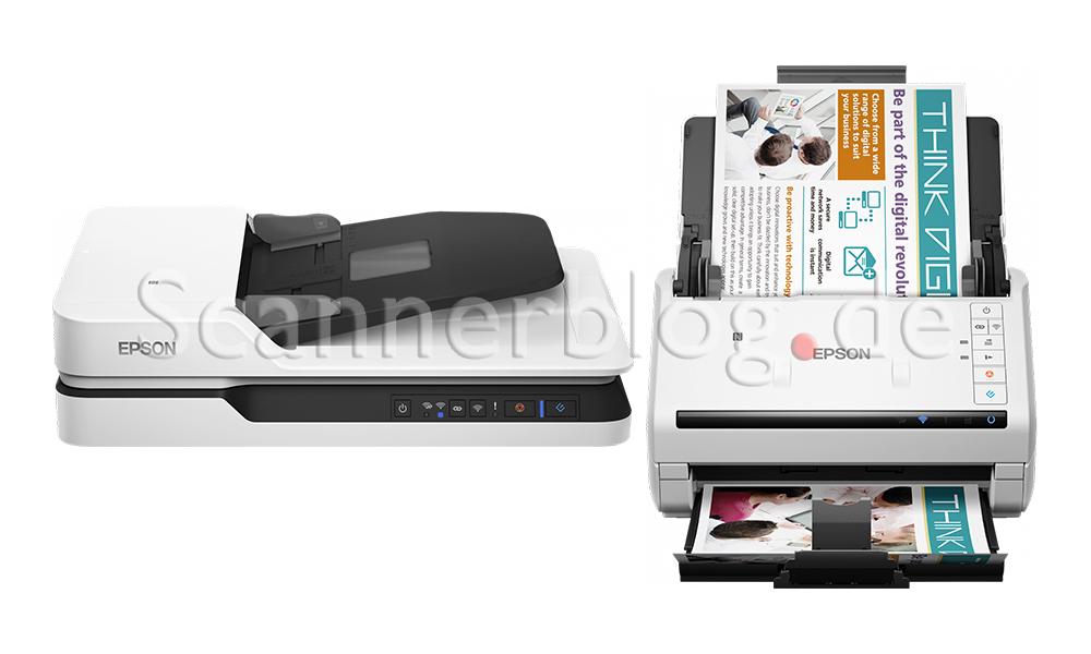 Epson WorkForce DS-530, DS-530N, DS-570W, DS-1630, DS-1660W
