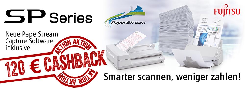 Fujitsu cashback-Aktion auf SP-Scanner