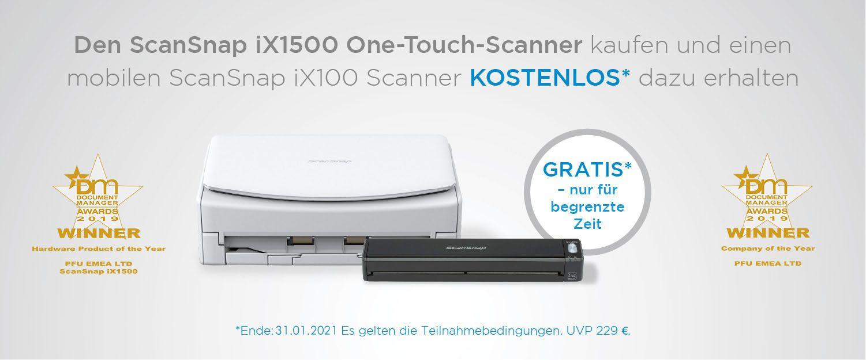 Fujitsu ScanSnap iX1500 Aktion