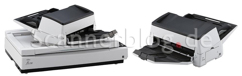 Fujitsu präsentiert zum Frühlingsanfang den fi-7600 und den fi-7700 Produktionsscanner.