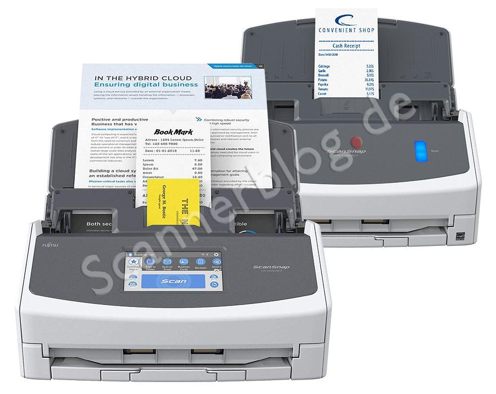 Fujitsu ScanSnap ix1400 und ix1600 angekündigt