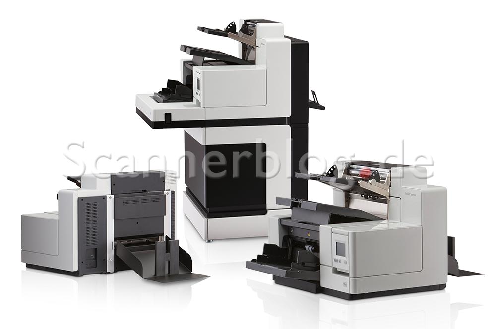 Der Kodak i5650s und i5860s verfügen über intelligente Sortierfunktionen und je drei Ausgabeschächte,