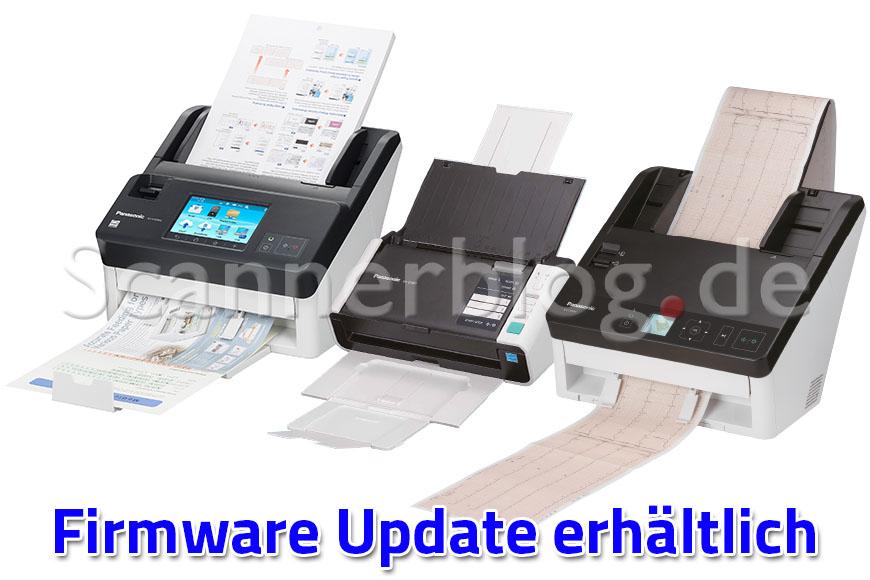 Panasonic Netzwerkscanner Firmware Update